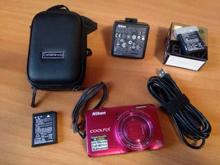 Cámara fotos Nikon COOLPIX S6300