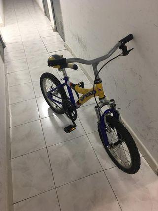 Bici de niños (5-6 años)
