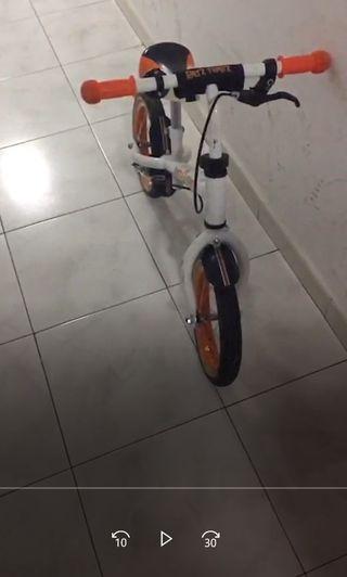 Bici sin pedales (3-4 años)