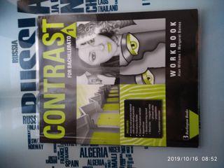 Libros de inglés Contrast 1 bachillerato