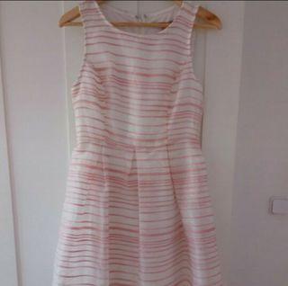 vestido corto fiesta rosa