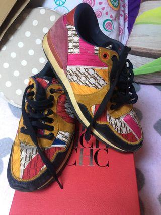 Zapatillas Carolina Herrera con su caja
