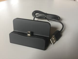 Dock cargador base de carga entrada tipo C nueva