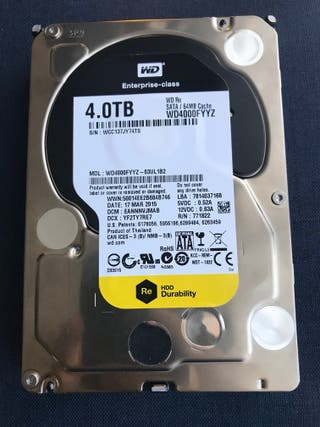 Disco duro 4TB WD Re