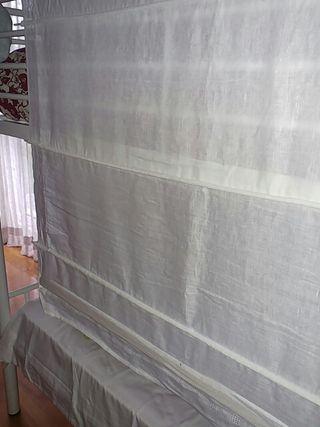 Estor algodón y lino