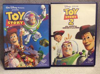 DVD dibujos. Toy story 1 y 2