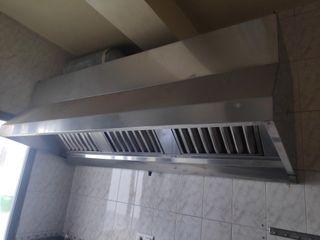 Campana extractora cocina Hostelería