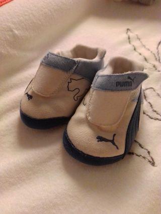 bambas bebé Puma talla 16-17