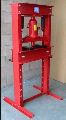 prensa hidraulica taller coches 32 toneladas