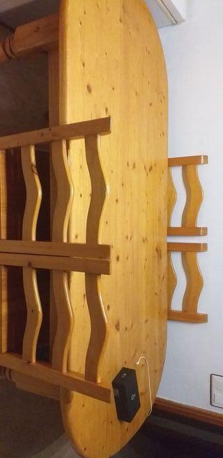 mueble comedor con mesa y sillas