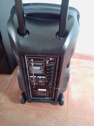 Altavoz trolley karaoke