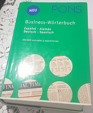 Diccionario alemán-español