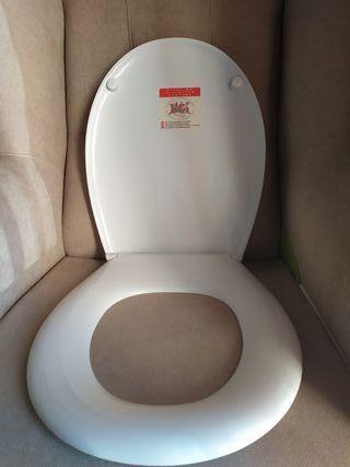 Tapadera WC