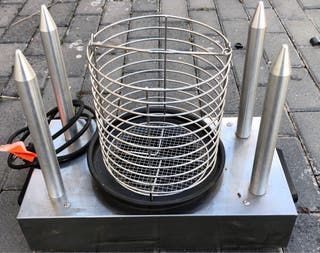 Perritos calientes Roller grill