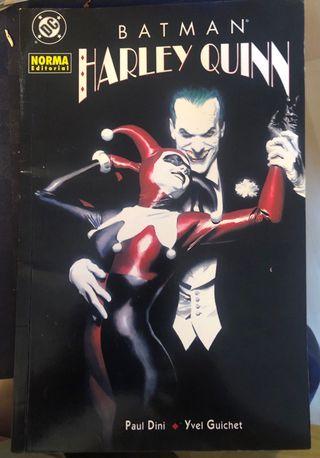 Comic Batman- Harley Quinn