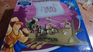 juguete de barco de Hércules
