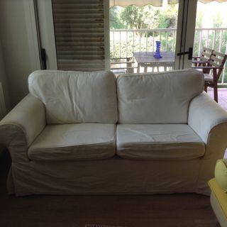 Sofa Ikea ektrop 2 Plazas