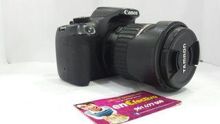 Camara de fotos Canon EOS1300D con objetivo Tamron