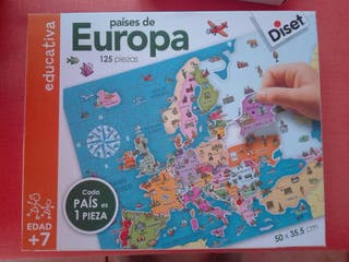 puzzle Europa de Diset