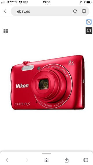 Cámara digital Nikon A300/20.1Mp COOLPIX A300