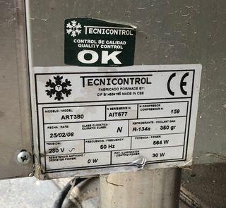 Frigorífico industrial tecnicontrol