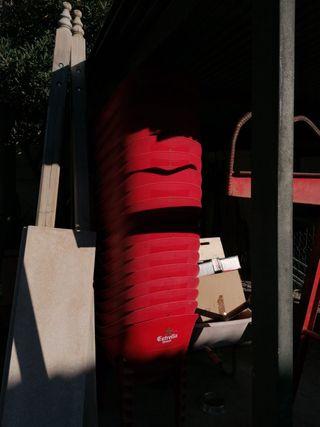 sillas plástico duro