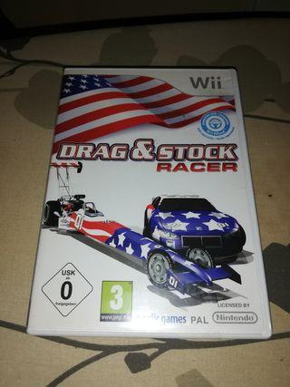 drag stock para wii