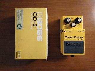 Pedal para guitarra Boss OD3 / OD-3