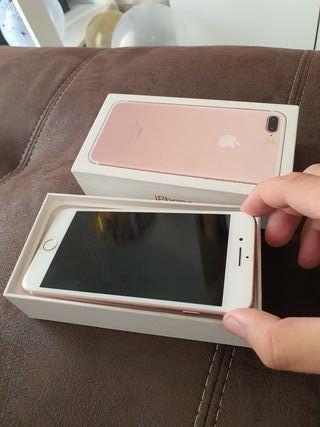 IPHONE 7 PLUS ROSA ORIGINAL 128 GB
