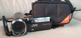 cámara video jvc everio+funda