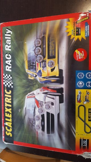 Scalectrix RAC Rally