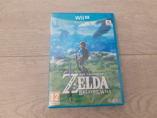 Zelda Breath of the Wild Nintendo Wii U PRECINTADO