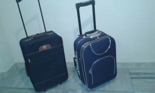2 maletas TROLLEY medianas-cabina,ruedas,telesco