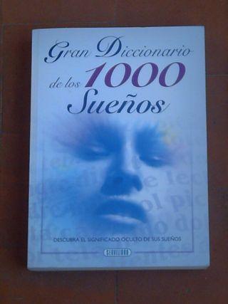libro diccionario de los sueños.