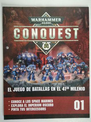 Fascículo Warhammer conquest 40k