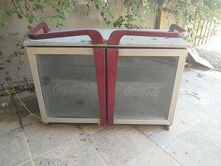 vitrina tapas,botellero coca cola,grifo cerveza