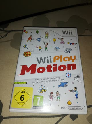 play motion para wii