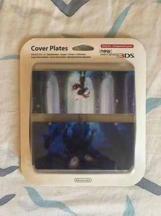 Cover plate Zelda Majoras Mask new Nintendo 3DS