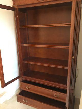 Mobiliario para salón completo de madera
