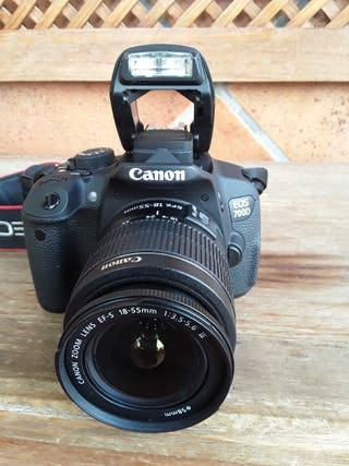 Canon 700D, objetivo y kit completo