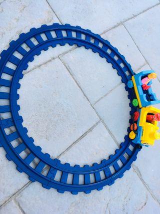 Train playmobil 123