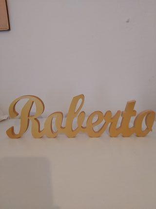 nombre Roberto