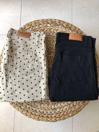 Lote 2 pantalones compañía fantástica