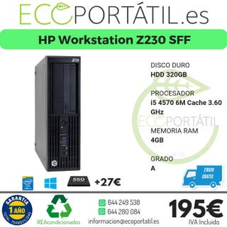 HP Workstation Z230 SFF