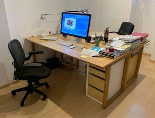 3 mesas de oficina u otros usos