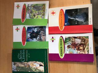 Libros de inglés ESO (5€ cada uno)
