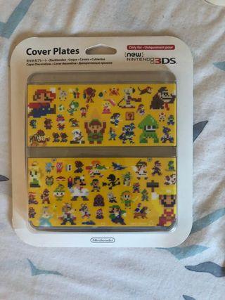 Cover plate Mario Maker new Nintendo 3DS NUEVA