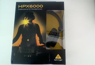 Auriculares profesionales para DJ BEHRINGER HPX600