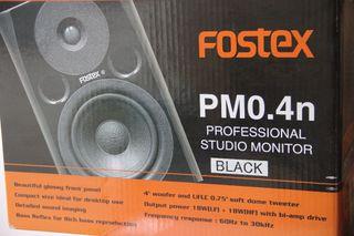 Monitores Fostex PM0.4n Autoamplificados