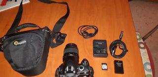 Cámara de fotos Nikon D40